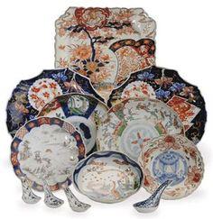 Imari Porcelain http://www.christies.com/LotFinder/lot_details.aspx?intObjectID=5284300