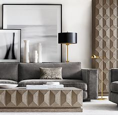 Recamier: know what it is and how to use it in decoration with 60 ideas - Home Fashion Trend Interior Rugs, Living Room Interior, Luxury Interior, Home Living Room, Home Interior Design, Living Room Decor, Scandinavian Interior, Decor Room, Living Room Trends