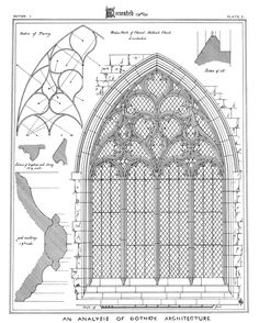 From: Gothic Architecture: 158 Plates from the Brandons' Treatise, 1847