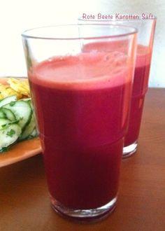 Hier habe ich ein leckeres Saft Rezept.         Zutaten für ca. 1L   1kg Karotten   1 Rote Beete, wenn möglich mit Blättern   4 Stangen Stau...