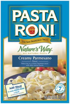 I'm learning all about Pasta Roni Creamy Parmesano Flavor Natures Way 4.8 Oz Box at @Influenster!