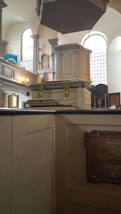 Box pews - Trinity Church,  Newport, RI