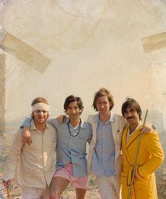 Wes Anderson, Jason Schwartzman, Adrien Brody & Owen Wilson - Darjeeling Limited