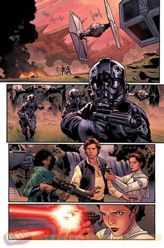 "Images for : Stuart Immonen Makes The Jump to Lightspeed In New ""Star Wars"" Arc - Comic Book Resources"