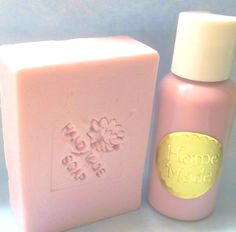 stamped soap and lotion set | normasbathandbody - Bath & Beauty on ArtFire Comes in a ton of yummy scents!!