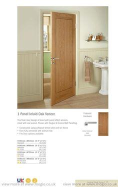 panel-inlaid-oak-veneer door