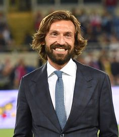 15 Times Andrea Pirlo Was The Living Embodiment Of Heavenly Things Andrea Pirlo, Checked Suit, Three Piece Suit, One Hair, Athletic Fashion, Men Style Tips, Haircuts For Men, Dapper, Style Guides