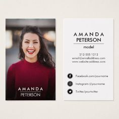 Actors and models classic headshot business card model business actors and models classic headshot business card model business cards pinterest business cards business and postcard layout colourmoves