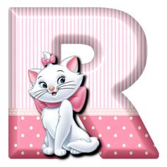 R Cat Marie (Alphabets by Mónica Michielin)