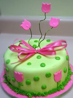 tulip cake - Google Search