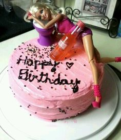 Drunk Barbie cake. I will get this cake eventually even if I make it myself