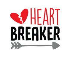 Free SVG cut file - Heart Breaker
