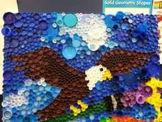 Plastic Bottle 'Cap'tivating mural! Treadwell is Reducing, Recycling ...