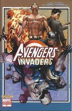 Marvel Avengers Invaders comic issue 6 Limited variant