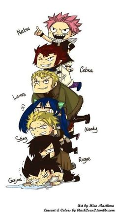 """Fairytail I don't know who is funnier here. Gajeel or Wendy. It's like, Natsu-""""I… Fairy Tail Nalu, Fairy Tail Ships, Rog Fairy Tail, Image Fairy Tail, Fairy Tail Amour, Fairy Tail Dragon Slayer, Fairy Tail Meme, Fairy Tail Guild, Fairy Tail Cobra"""