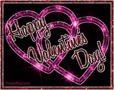 Happy Valentine& Day Glitter Linked Hearts Glitter Graphic, Greeting, Comment, Meme or GIF Valentines Day Greetings For Friends, Valentines Qoutes, Happy Valentines Day Images, Valentines Day Hearts, Love Valentines, Valentine Heart, Valentine Day Gifts, Saint Valentine, Valentine Ideas