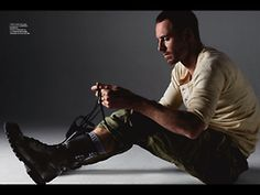 Michael Fassbender. Why is it that when you tie your shoes, it is sexy?!