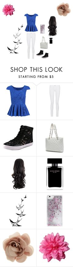 """""""Untitled#6"""" by famousdesigns ❤ liked on Polyvore featuring Frame Denim, Rebecca Minkoff, Chanel, Narciso Rodriguez, Skinnydip, Accessorize, women's clothing, women, female and woman"""
