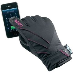 Dakine Tempest Touch Screen Gore-Tex Womens Snowboard Gloves - Black | 2013    FINALLY! this will solve so many problems!