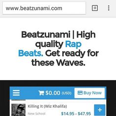 Before you visit www.beatzunami.com make sure you #Getreadyforthesewaves.  The finest rap beats for serious artists. From boom bap to trap with the same dedication.  #rapper #Beats #beatmakers #beatmaking #instrumentals #trapmusic #trap #boombap #underground #westcoast #eastcoast #trvp