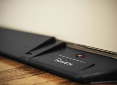 Haven, A Home Lock With Smartphone Connectivity That Installs on the Base of a Door