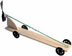 KELVIN® Rubberband & Propeller Car Bulk Parts