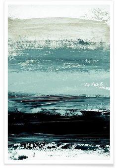 Minimalist Landscape 4 as Premium Poster by Iris Lehnhardt | JUNIQE