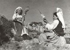 Στο Αγγελόκαστρο Κέρκυρας. Χωρικαί | Χρουσάκη Μαρία. Συλλέκτης: National Gallery - Alexandros Soutsos Museum, Athens