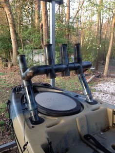 DIY Kayak Rod Holder 2
