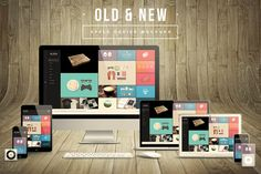 Check out Old & New Apple Device Mockups by Maulana Creative on Creative Market