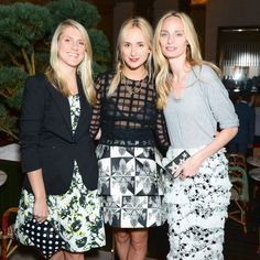 Party Down in Paris - Elisabeth von Thurn und Taxis with Hayley Bloomingdale and Lauren Santo Domingo