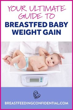 It can be so stressful when you are breastfeeding worrying if your breastfed baby is gaining enough weight. A lactation consultant explains about baby weight gain, growth charts and percentiles. Get these facts and don't stress. Breastfeeding Problems, Breastfeeding Support, Baby Tips, Baby Hacks, How To Increase Breastmilk, Increase Milk Supply, Growth Charts, Lactation Consultant, Baby Growth