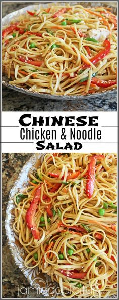 Chinese Chicken and Noodle Salad | Jamie Cooks It Up - Family Favorite Food and Recipes