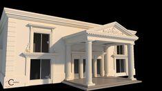 Triunghi intrare salon nunti Venus, Facade, Gazebo, Exterior, Outdoor Structures, Mansions, House Styles, Villas, Design
