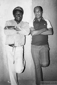 I Roy and King Tubby (photo by Syphilia Morgenstierne)