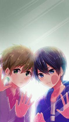 Makoto x Haru/Free!