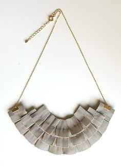 Ori Ori Grosgrain Ribbon Necklace $35