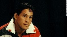 """Famed Puerto Rican boxer Hector """"Macho"""" Camacho, seen here in 1993, is clinically """"brain dead,"""" a doctor said Thursday, November 22. A gunman shot him in the face two days earlier in front of a bar in his hometown of Bayamon, Puerto Rico."""