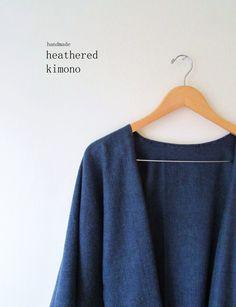 DIY Handmade Heathered Kimono