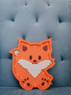 Our product is the unique Fox night lamp that is made with love and care for the most important people in your life. This Fox night light works on the simple batteries, which is very convenient because you can place it anywhere you want. Marquee light is made from birch plywood and its