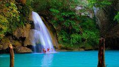 Kawasan Falls, Moalboal near Badian Cebu, Philippines Tourist Places, Places To Travel, Places To See, Philippines Destinations, Kawasan Falls, Travel Reviews, Island Girl, Cebu, Travel Goals