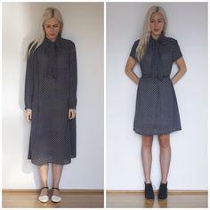 ⠀⠀Ladygirl Vintage: Bow Detail Dress