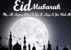 Eid Mubarak Wishes Sms Messages, Quotes For Eid-Ul-Fitr