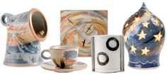 Edinbane Pottery, Isle of Skye. Specialists in both woodfired and salt-glazed pottery.