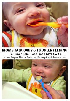 Moms Offer Baby & Toddler Feeding Tips + Super Baby Food Book Review & #Giveaway - #sponsored  #parenting #babies #kbn