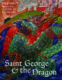 St. George and the Dragon, Orthodox children's book.