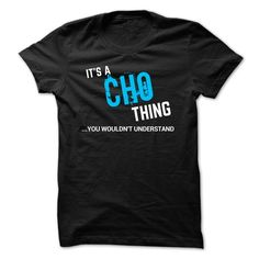 (Tshirt Awesome Gift) SPECIAL  It a CHO thing     Shirts 2016