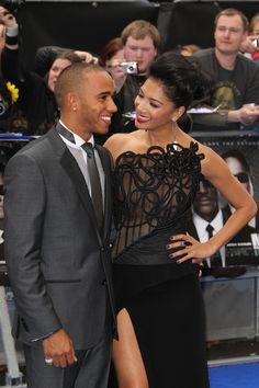 Lewis Hamilton and Nicole Scherzinger Photo - The UK Premiere of 'Men In Black III' 2
