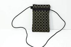 Smartphone passport case in metallic gold rings by JoyInTheBag on Etsy