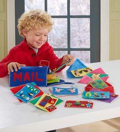 Felt Mailbox Play Set and Christmas Cards Set Special